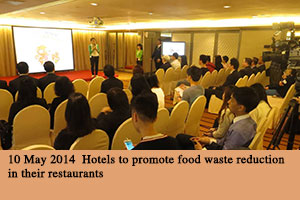 10 May 2014 Hotels to promote food waste reduction in their restaurants