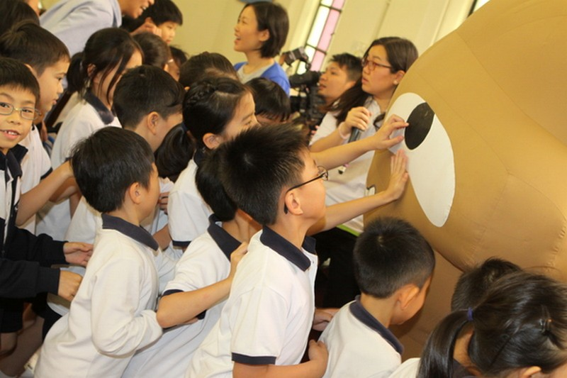 Kau Yan School's Food Wise Hong Kong Workshop