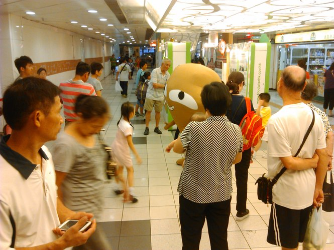 Food Wise Hong Kong Campaign to promote food waste reduction at Tai Po District