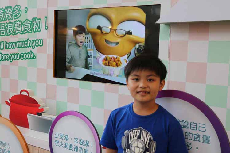 Food Wise Hong Kong Campaign to promote food waste reduction at Wong Tai Sin District