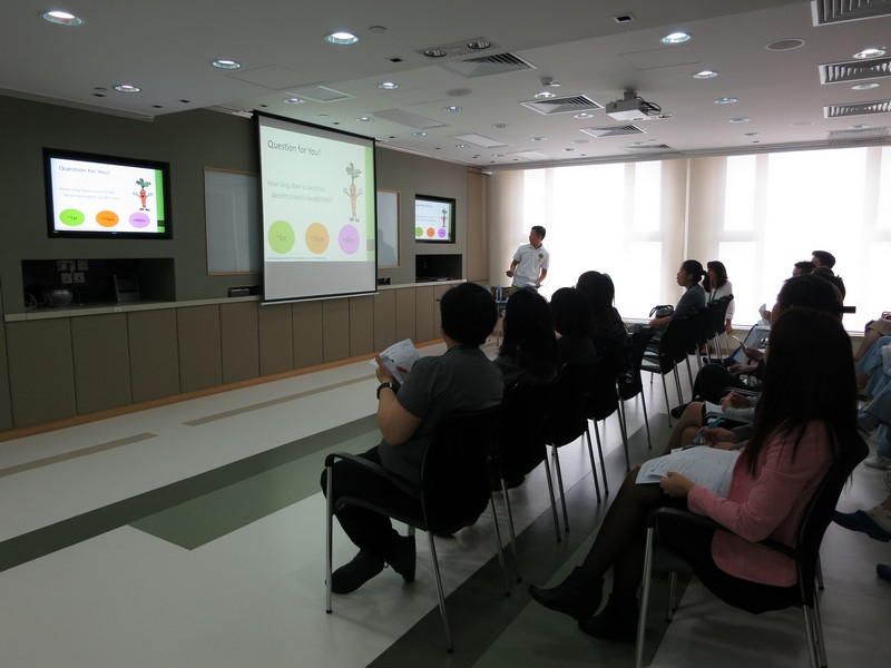 Matilda International Hospital's Food Wise Hong Kong Workshops