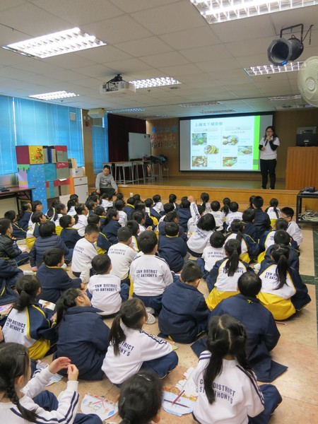 C & W District St. Anthony's School's Food Wise Hong Kong Workshop