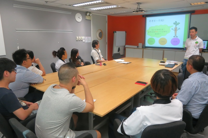 IKEA Food Wise Hong Kong Workshop: Staff participating in the workshop (1)