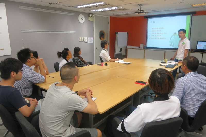 IKEA Food Wise Hong Kong Workshop:Staff participating in the workshop (2)