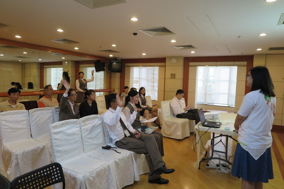 Pacific Palisades Food Wise Hong Kong Workshop: Participants in the workshop (1)