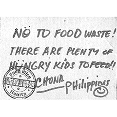 NO TO FOOD WASTE