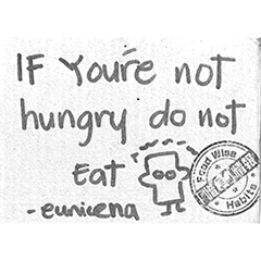 IF You're not hungry do not eat